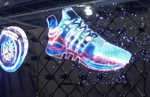LED hologram displays