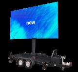 1 dag huren 12m² LEDscherm - Mobiel LED scherm 12m2 verhuur - huur uw LED scherm_