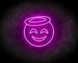 SMILEY neon sign - LED neon reclame bord_