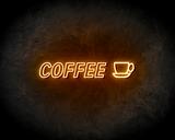 COFFEE neon sign - LED neon reclame bord_
