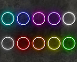 BARBERSHOP DUBBEL neon sign - LED neon reclame bord neon letters verlichting_