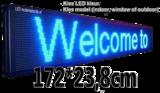 Professionele LED lichtkrant afm. 172 x 23,8 x 7 cm_