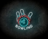 Bowling Neon Sign - Licht reclame _