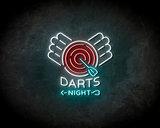 Dart nights Neon Sign - Licht reclame _