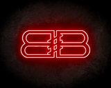 Balenciaga Neon Sign - Neonreclame borden_