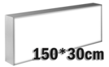 LED lichtbak 150x30cm _