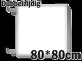 LED lichtbak 80x80cm - Dubbelzijdig_