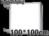 LED lichtbak 100x100cm - Dubbelzijdig_