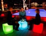 LED kubus stoel / tafel_