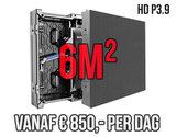 Modulair LED scherm 6m2 - Verhuur 1 dag_