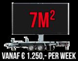 Mobiel LED scherm 7m2 - Verhuur 1 week_
