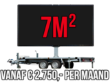 Mobiel LED scherm 7m2 - Verhuur 1 maand_