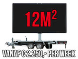 Mobiel LED scherm 12m2 - Verhuur 1 week_
