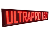 UltraPro series - Professionele LED lichtkrant afm. 296 x 40 x 7 cm_