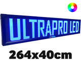 UltraPro series - Professionele LED lichtkrant afm. 264 x 40 x 7 cm_