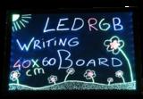 40cm*60cm LED schrijfbord incl. stiften_