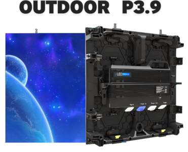 Pro SPX Outdoor LED scherm 500x500mm - SMD P3.91