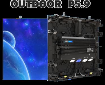 Pro SPX Outdoor LED scherm 500x500mm - SMD P5.9