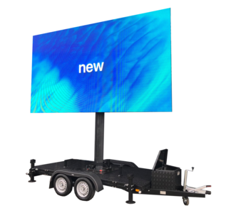 1 dag huren 12m² LEDscherm - Mobiel LED scherm 12m2 verhuur - huur uw LED scherm