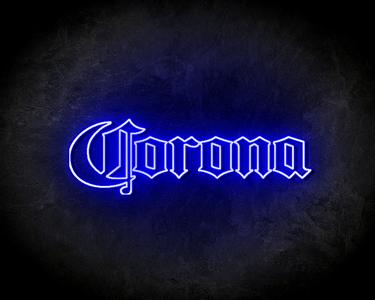 CORONA BIER neon sign - LED neon reclame bord