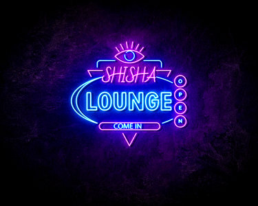 SHISHA LOUNGE neon sign - LED neon reclame bord
