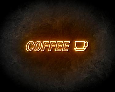 COFFEE neon sign - LED neon reclame bord