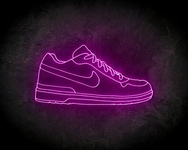 NIKE SHOE neon sign - LED neon reclame bord - neon licht schoen