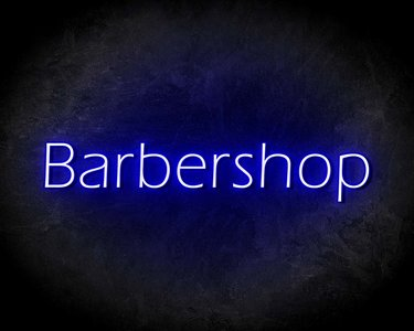 BARBERSHOP neon sign - LED neon reclame bord neon letters verlichting