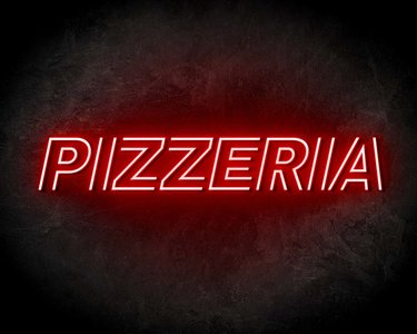 PIZZERIA neon sign - LED neon reclame bord neon letters verlichting