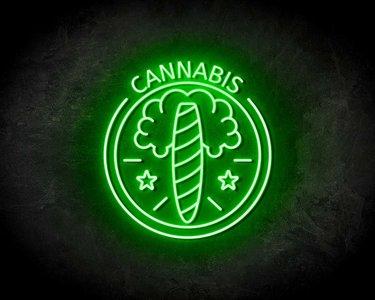 CANNABIS neon sign - LED neon reclame bord