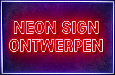 NEON TEKST ONTWERPEN - LED neon sign - Licht reclame neon sign - Neon maken bedrijfsnaam
