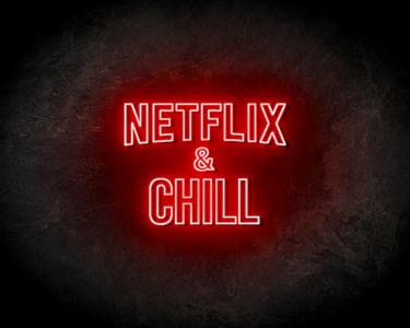 Netflix & Chill LED Neon Sign - Neon verlichting