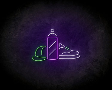 Sneaker Neon Sign - Neonreclame borden