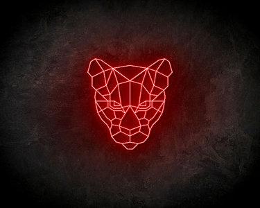 Tiger Neon Sign - Licht reclame