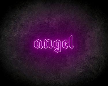 Angel Neon Sign - Neonreclame borden