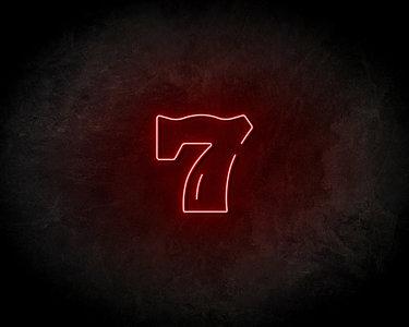 7 Neon Sign - Neonreclame borden