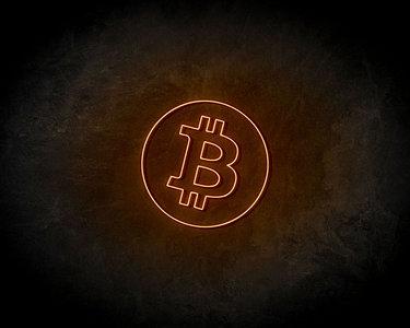 Bitcoin Neon Sign - Neonreclame borden