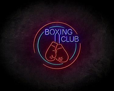 Boxing Club LED Neon Sign - Neon verlichting
