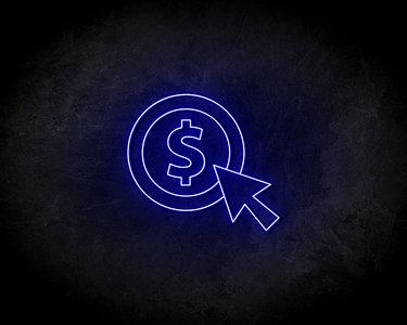 Coin Neon Sign - Neonreclame borden