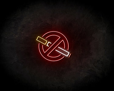 No Smoke Neon Sign - Neonreclame borden