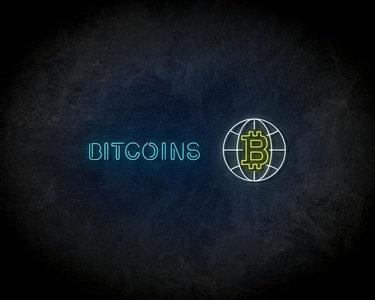 Bitcoins LED Neon Sign - Neon verlichting