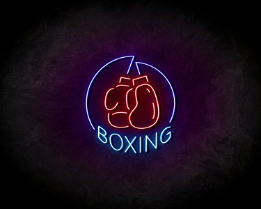Boxing LED Neon Sign - Neon verlichting