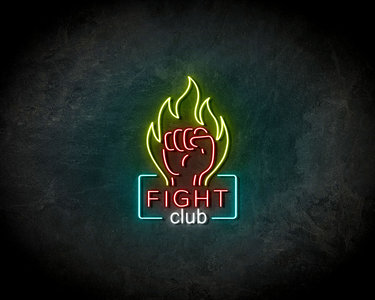 Fight Club LED Neon Sign - Neon verlichting