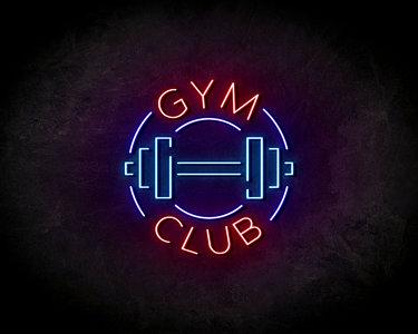 Gym Club LED Neon Sign - Neon verlichting