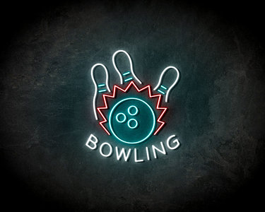 Bowling Neon Sign - Licht reclame