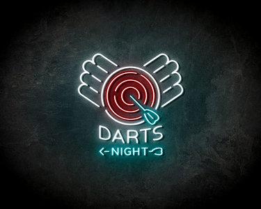 Dart nights Neon Sign - Licht reclame