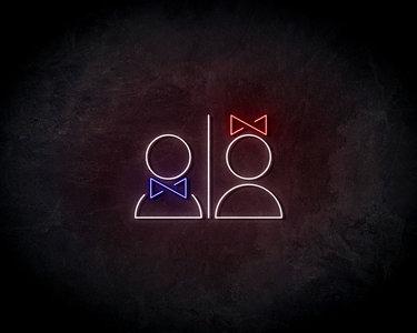 Couple Neon Sign - Neonreclame borden