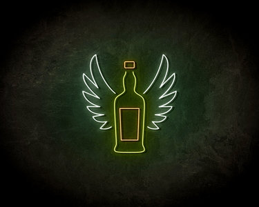 Beer wings Neon Sign - Neonreclame borden