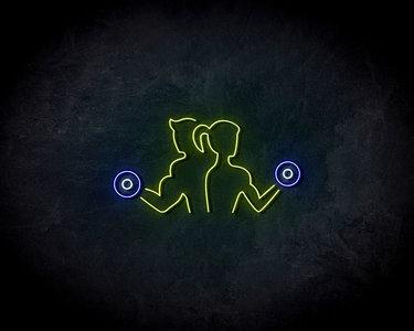 Gym Neon Sign - Neonreclame borden