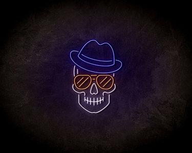 Jazz skeleton LED Neon Sign - Neon verlichting